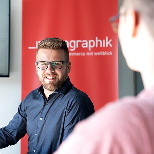 Geschäftsführer von Mediagraphik Tim Resl