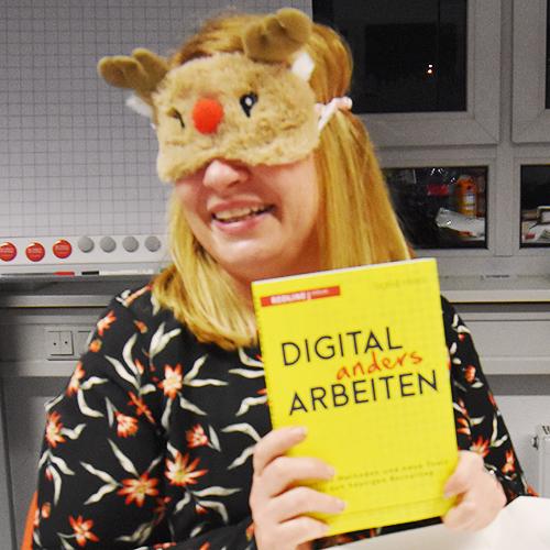 """Weihnachtsfeier 2019 mit dem Motto """"DIGITAL anders ARBEITEN"""""""