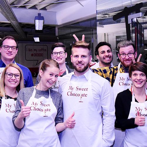Teambild an der Weihnachtsfeier 2019