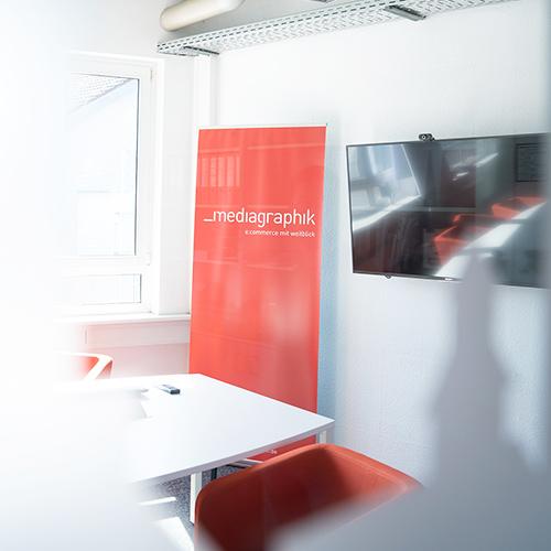 Der Mediagraphik Meetingraum