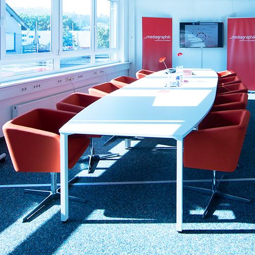 Meetingraum im Mediagraphik Büro