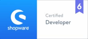zertifizierter Shopware 6 Entwickler