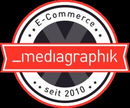 Mediagraphik Logo 10 Jahre E-Commerce
